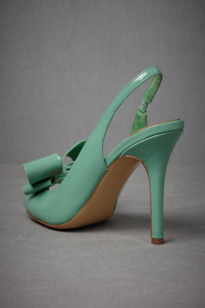 Green Dimensionality Peep-Toes | BHLDN