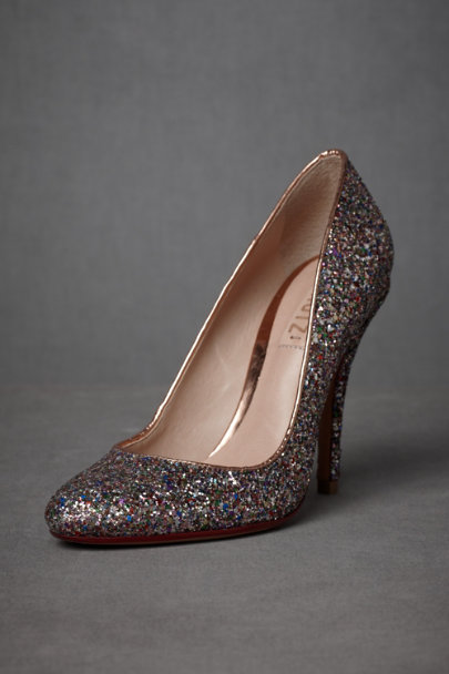 Multi Glitter Scintillation Heels | BHLDN