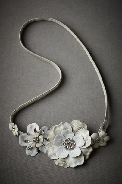 Ivory Sun-Bleached Belt | BHLDN