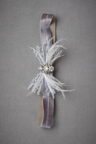 LAVENDER Eventide Garter | BHLDN