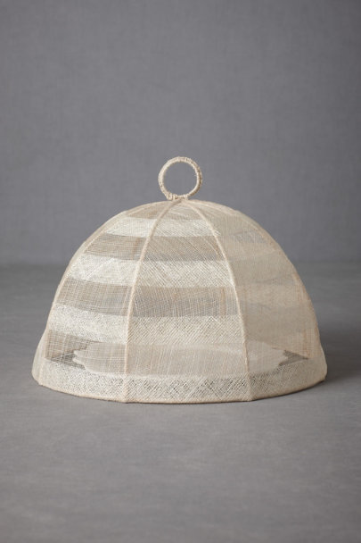 natural Airy Cloche Food Cover  | BHLDN