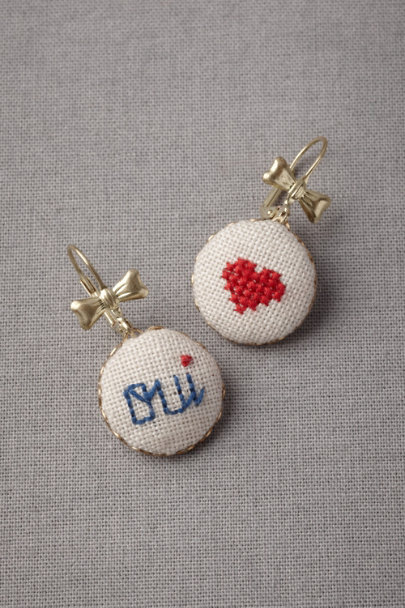 neutral Oui Earrings | BHLDN