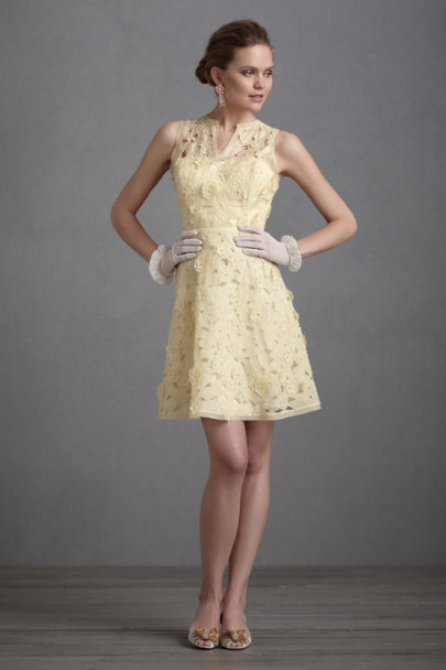 Lemon Lemon Meringue Dress | BHLDN