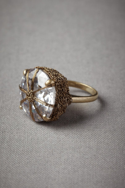 Clear Possessed Prize Ring | BHLDN