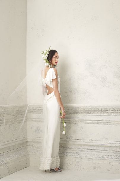 Creme Brulee Iced Confection Gown | BHLDN
