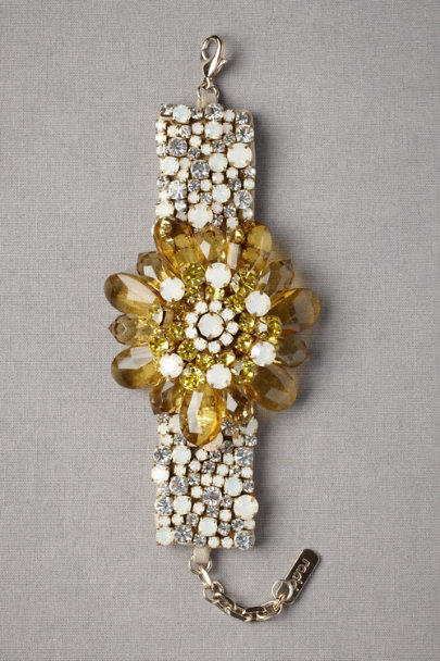 yellow Perfumed Current Bracelet | BHLDN