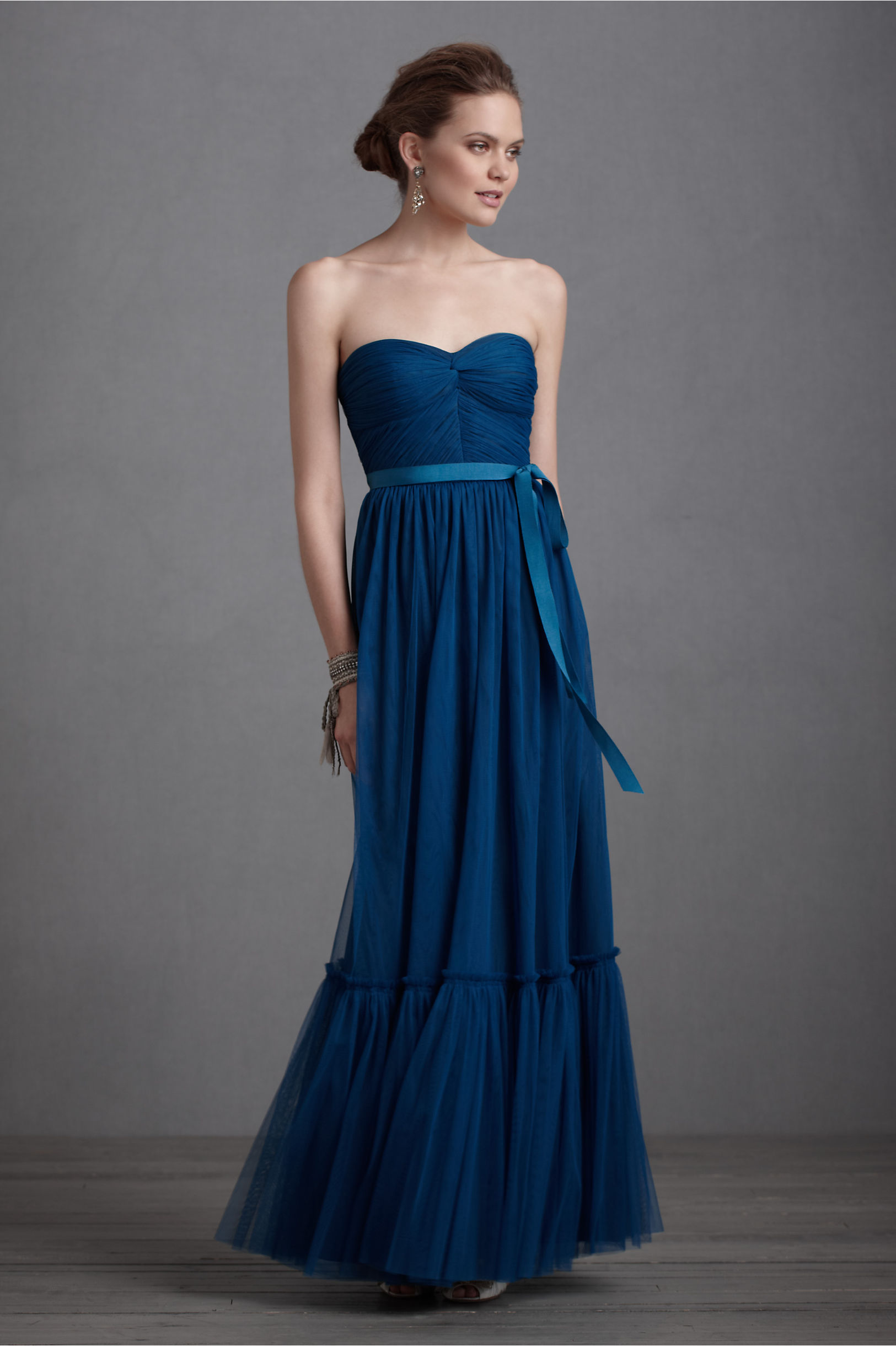 Niceties dress in bridal party bhldn peacock blue niceties dress bhldn ombrellifo Image collections