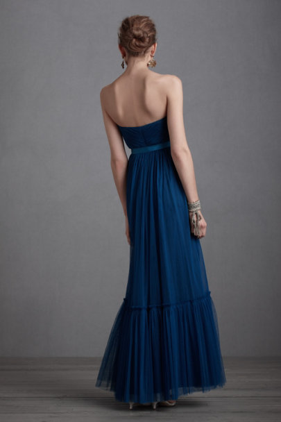 Peacock Blue Niceties Dress | BHLDN