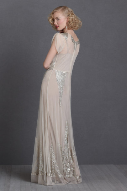 bisque Aiguille Gown | BHLDN