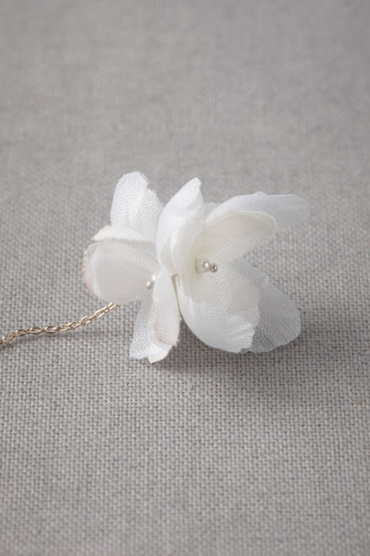 ivory Hanami Earrings | BHLDN