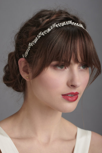Jennifer Behr Clear Crystal Everbright Circlet | BHLDN