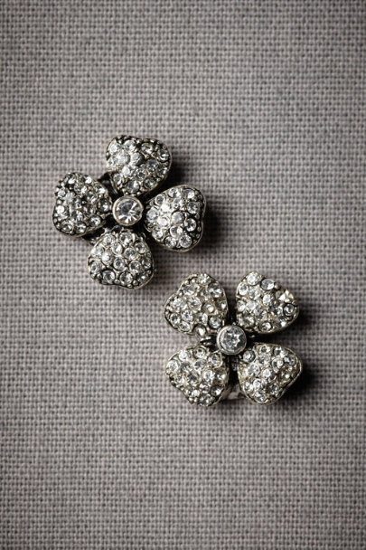 Silver County Clare Earrings | BHLDN