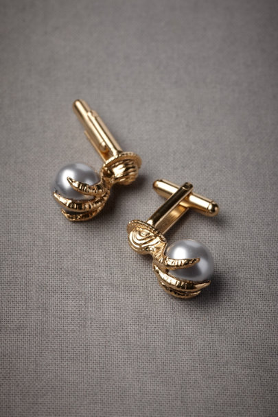 Debra Moreland Gold Talon's Treasure Cufflinks | BHLDN