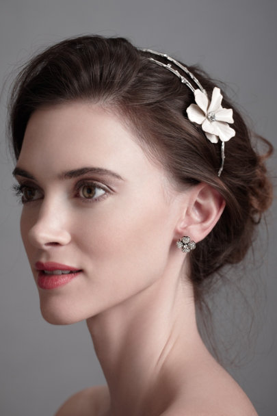 Silver Forgotten Copse Headpiece | BHLDN