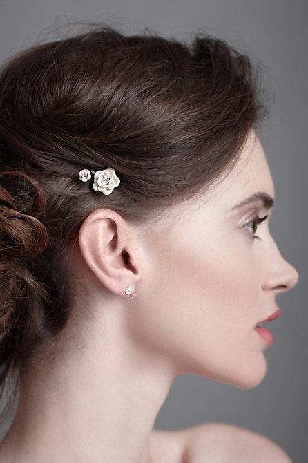 Cotton Blossom Hair Pins