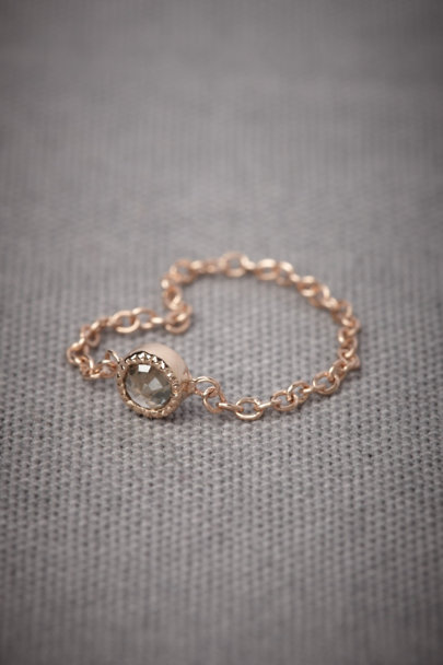 gold Jeweled Links Ring | BHLDN