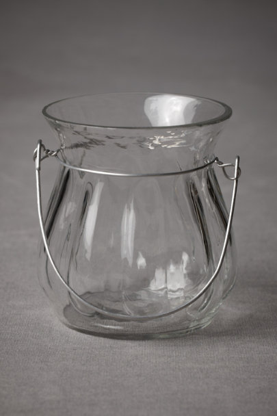 clear Dumpling Votive | BHLDN