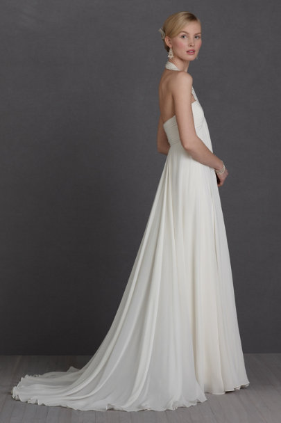 cream Blossoming Weir Gown | BHLDN