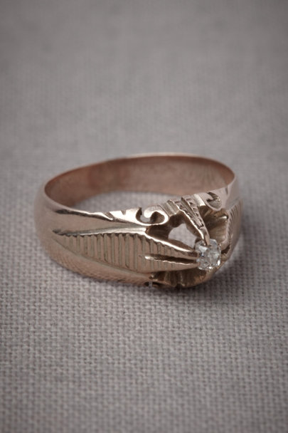 Gold Tenayuca Ring | BHLDN