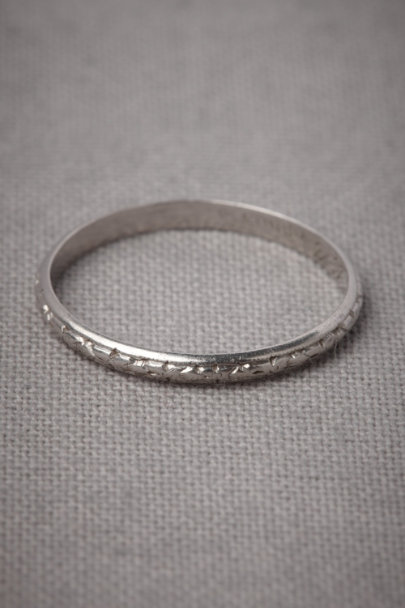 Platinum Delphic Impression Ring | BHLDN