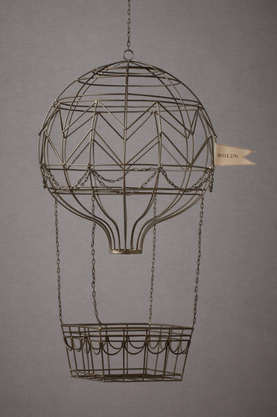 black Hovering Hot Air Balloon | BHLDN