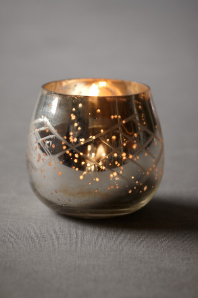 Silver Constellation Votive | BHLDN