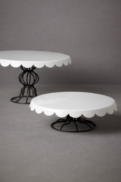 cream Patisserie Cake Stands | BHLDN