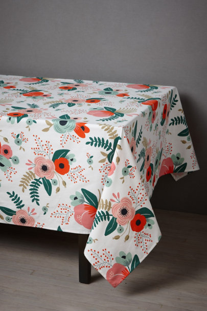 View larger image of Botanical Garden Tablecloth
