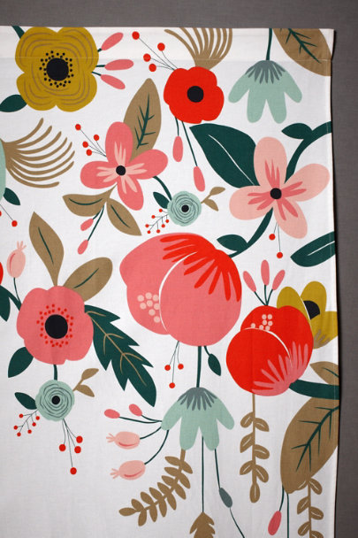 Rifle Paper Co. multi Hothouse Foliage Backdrop | BHLDN