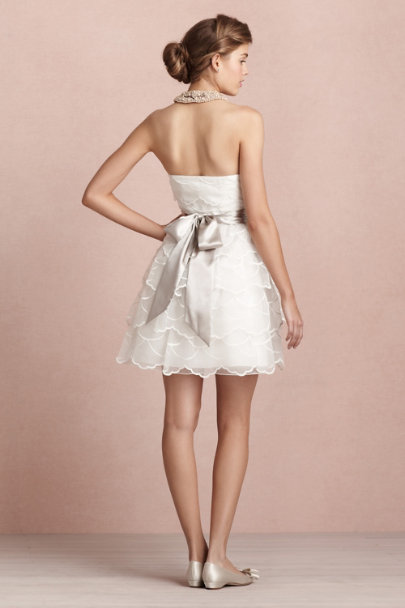 ivory Candy Floss Dress | BHLDN