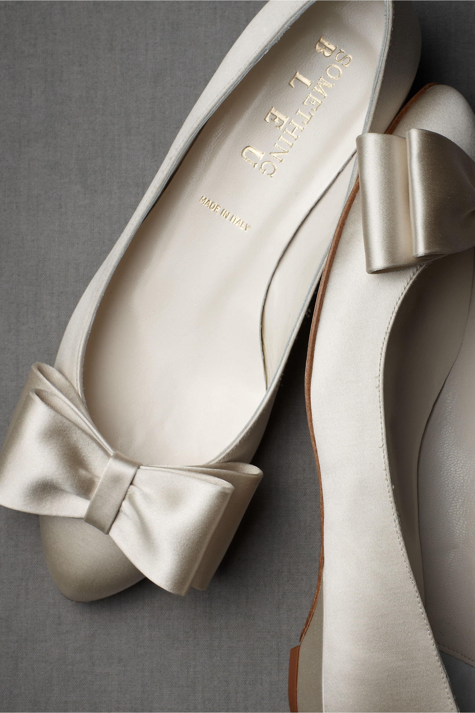 Bowtie Flats in Bride | BHLDN