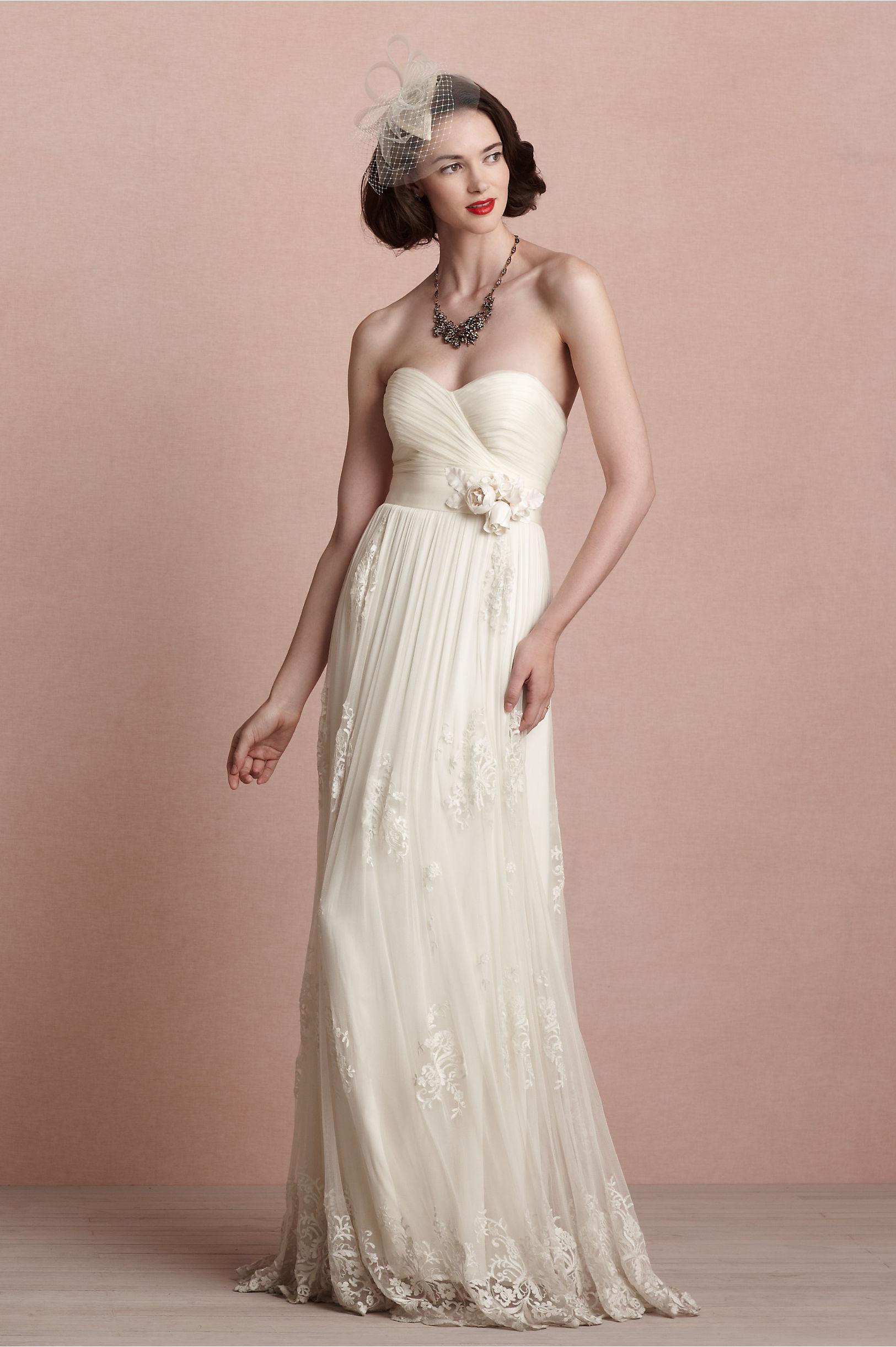 Luella Gown in Bride | BHLDN