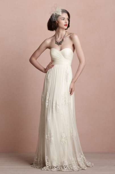ivory Luella Gown | BHLDN