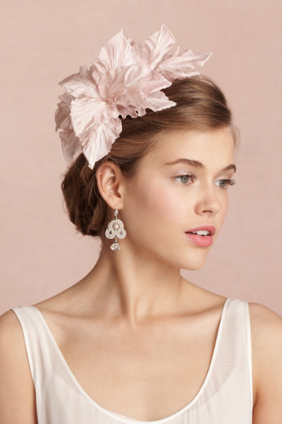 blush Gladiolus Headband | BHLDN