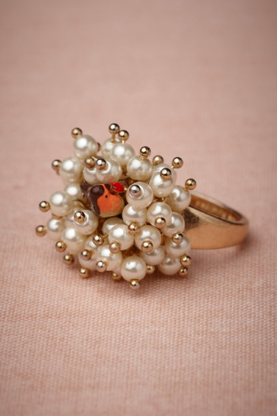 pearl Dulcet Notes Ring | BHLDN