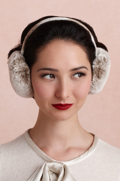 BEIGE Serenity Ear Muffs | BHLDN