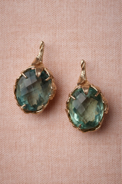 green Lagoon Earrings | BHLDN