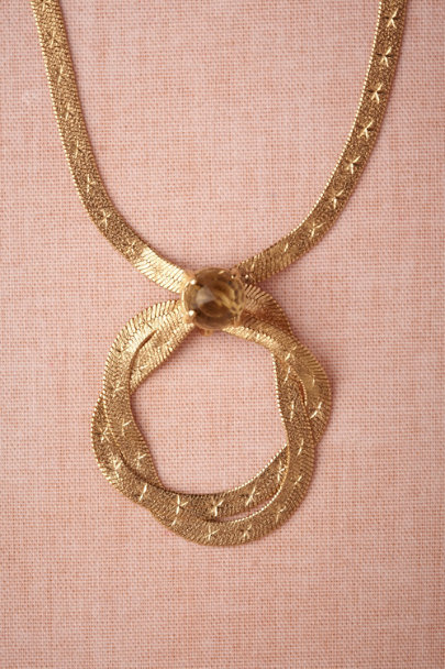 gold Odyssey Necklace | BHLDN