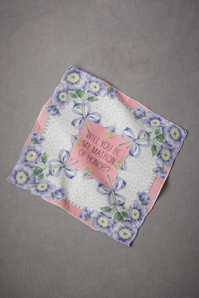 multi Matron of Honor Kerchief | BHLDN