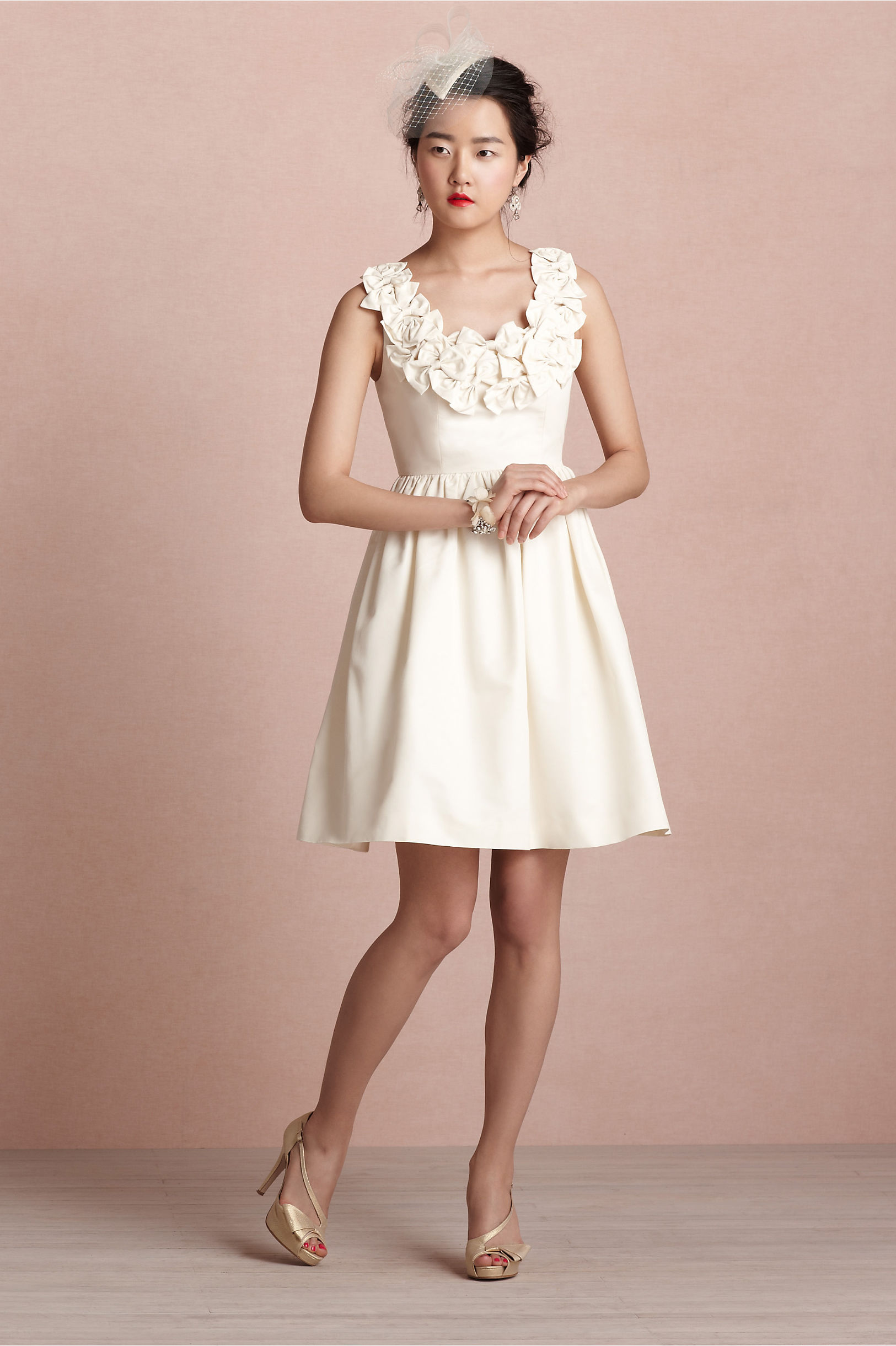 Ribboned Garland Dress in Sale | BHLDN