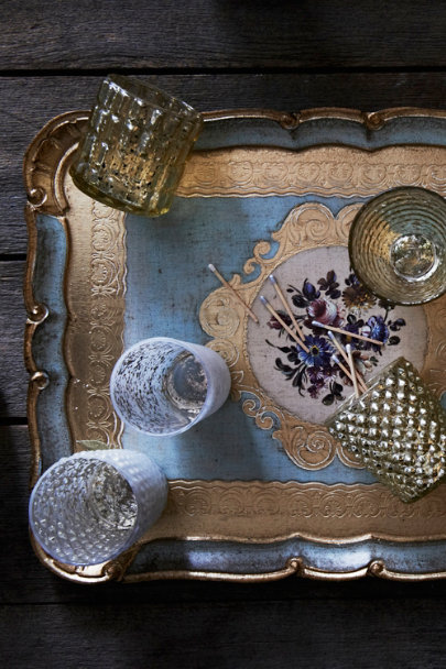 blue Firenze Tray | BHLDN