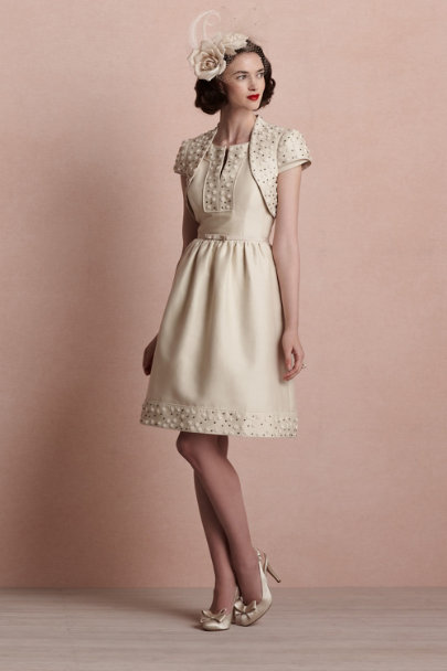 ivory Whirlwind Dress | BHLDN