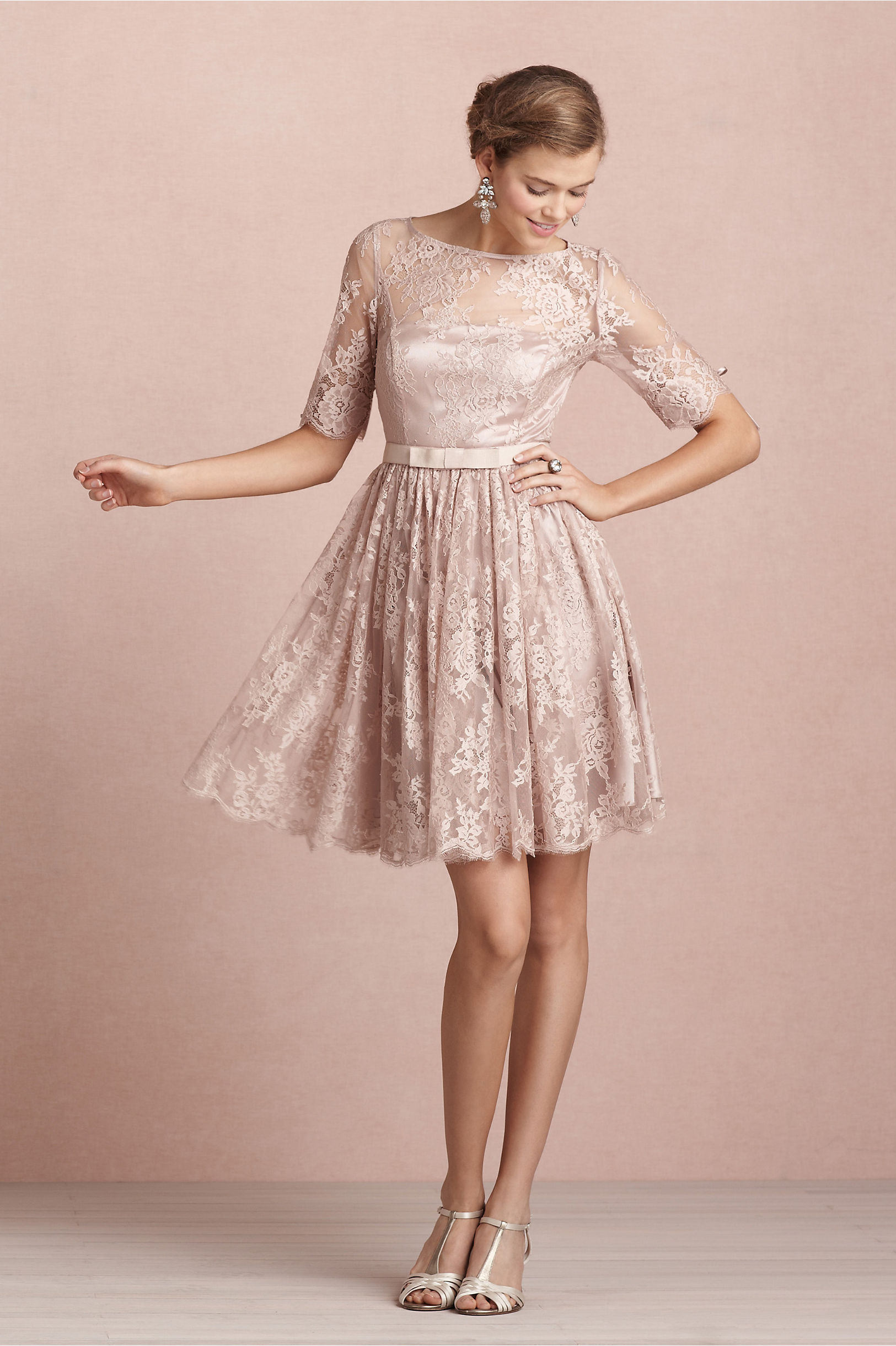 Tea Rose Dress in Bridal Party | BHLDN