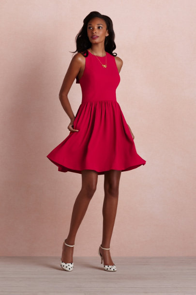 ruby red Nexus Dress | BHLDN