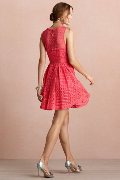 hot pink Theorem Dress | BHLDN
