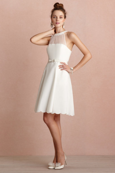 ivory Horizon Dress | BHLDN