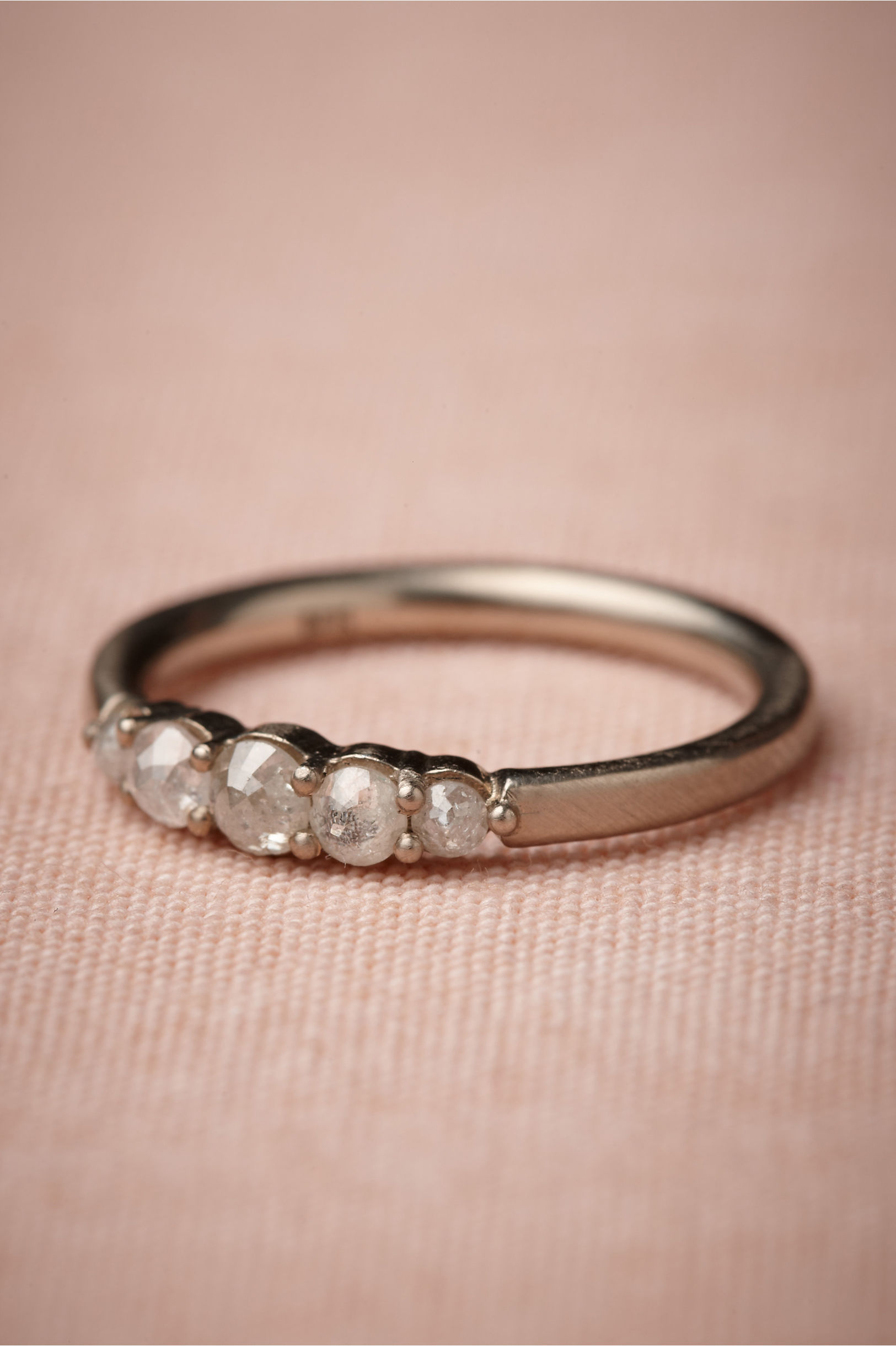 Cinquecento Ring white gold in Bride | BHLDN