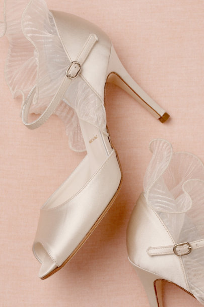 ivory Cloud Cover Peep-Toes | BHLDN