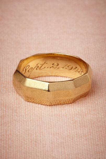 gold Lana Ring | BHLDN