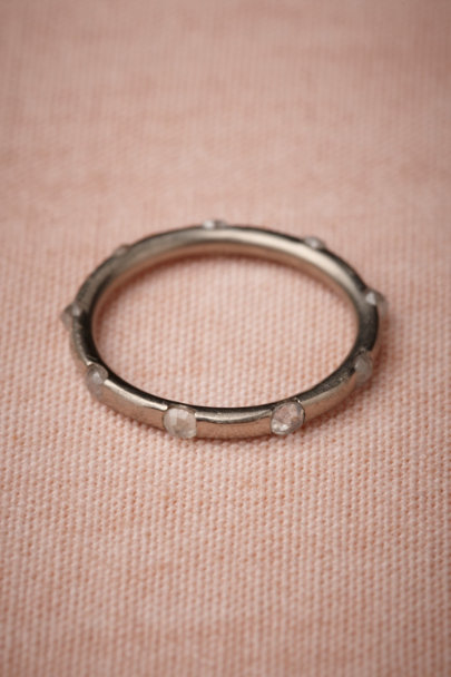 white gold Meridian Band | BHLDN